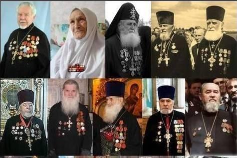 Священники и монахи — ветераны Великой Отечественной войны
