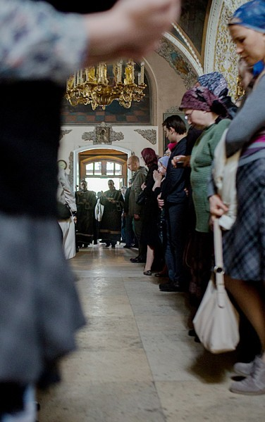 Вынос плащаницы в храме свт. Николая в Кузнецах (33)