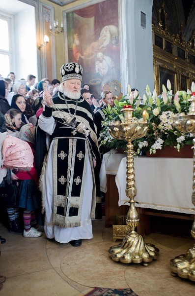 Вынос плащаницы в храме свт. Николая в Кузнецах (21)