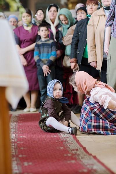Вынос плащаницы в храме свт. Николая в Кузнецах (5)