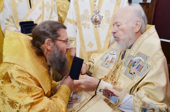 С Блаженнейшим Митрополитом Владимиром