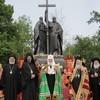 Молебен у памятника святым равноапостольным Кириллу и Мефодию в Москве (ФОТО)