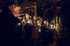 Днесь висит на древе… 12 Евангелий в храме свт. Николая в Кузнецах (ФОТО)