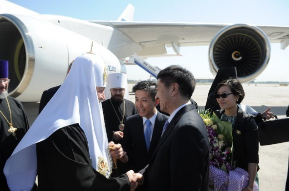 Начался визит Святейшего Патриарха Кирилла в Китай (2)