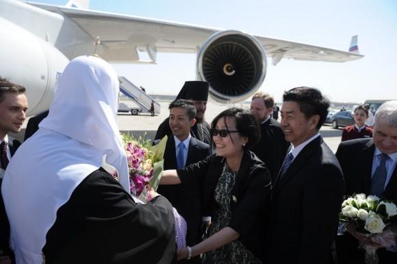 Начался визит Святейшего Патриарха Кирилла в Китай (3)