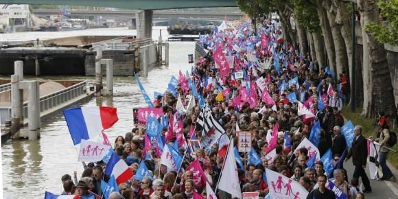 Франция против однополых браков (4)