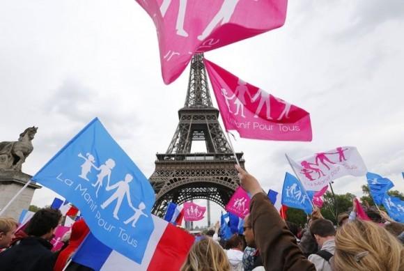 Франция против однополых браков (1)