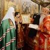 Члены Священного Синода поздравили Патриарха Кирилла с днем тезоименитства