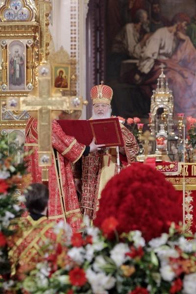 Пасха в храме Христа Спасителя (27)