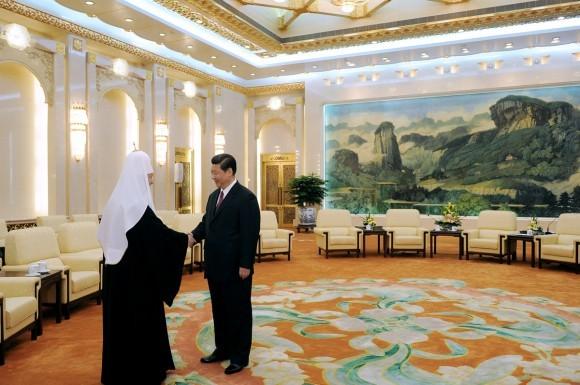 Начался визит Святейшего Патриарха Кирилла в Китай (4)