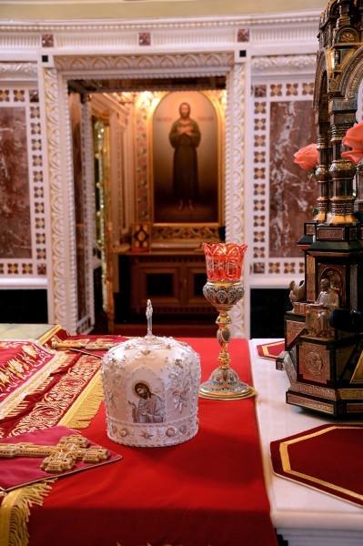 Пасха в храме Христа Спасителя (1)