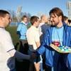 """Болельщики """"Зенита"""" сыграли в футбол со священниками Санкт-Петербургской епархии"""