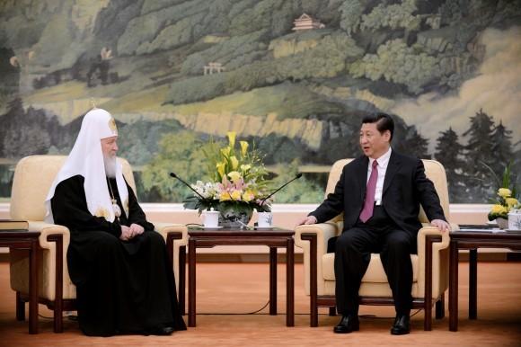 Начался визит Святейшего Патриарха Кирилла в Китай (5)