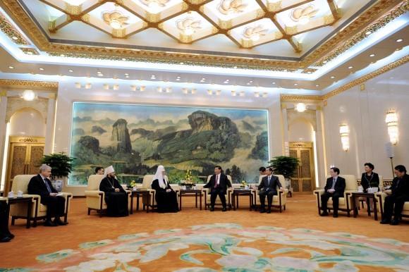Начался визит Святейшего Патриарха Кирилла в Китай (6)