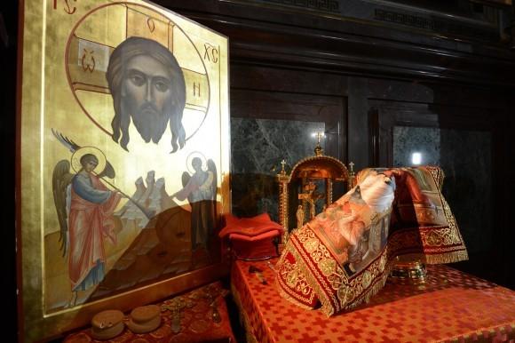 Пасха в храме Христа Спасителя (5)