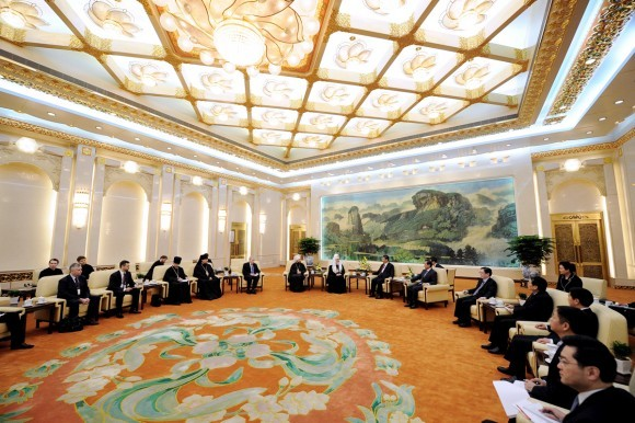 Начался визит Святейшего Патриарха Кирилла в Китай (7)