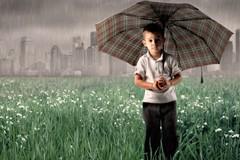 Чающим дождя