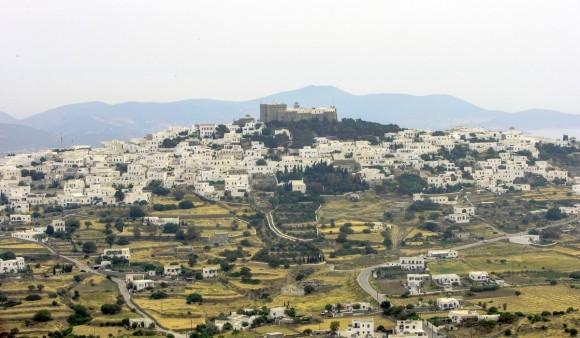 Вид на Хору и монастырь