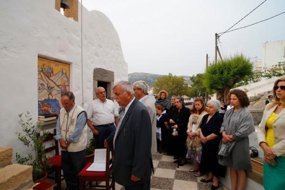 Литургия в храме-часовне недалеко от порта