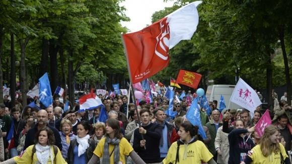 Франция против однополых браков (13)
