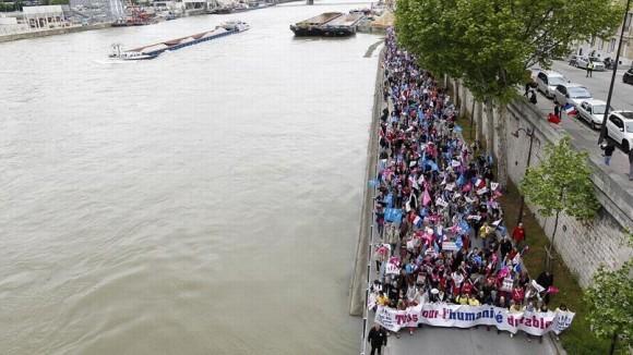Франция против однополых браков (12)