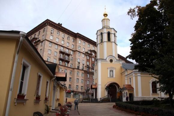 Совет проходил при храме в честь Всех святых во Всехсвятском, что на Соколе