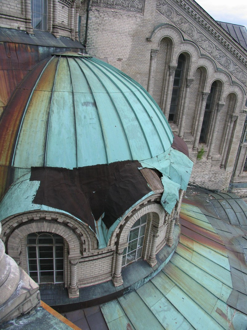 Фото морского собора в кронштадте до реставрации