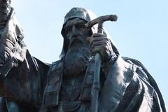 Освящение памятника священномученику Ермогену в Москве (ФОТО)