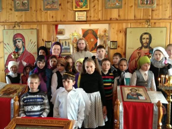 Пасхальная неделя в Алданском благочинии