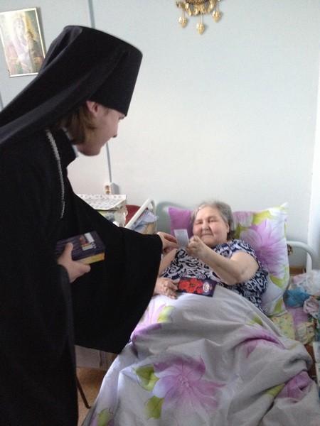 В доме-интернате для престарелых и инвалидов поселка Ленинский Алданского района