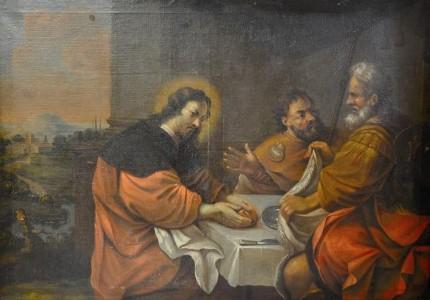 Христос в Эммаусе, Жан Тассель, 17 в.