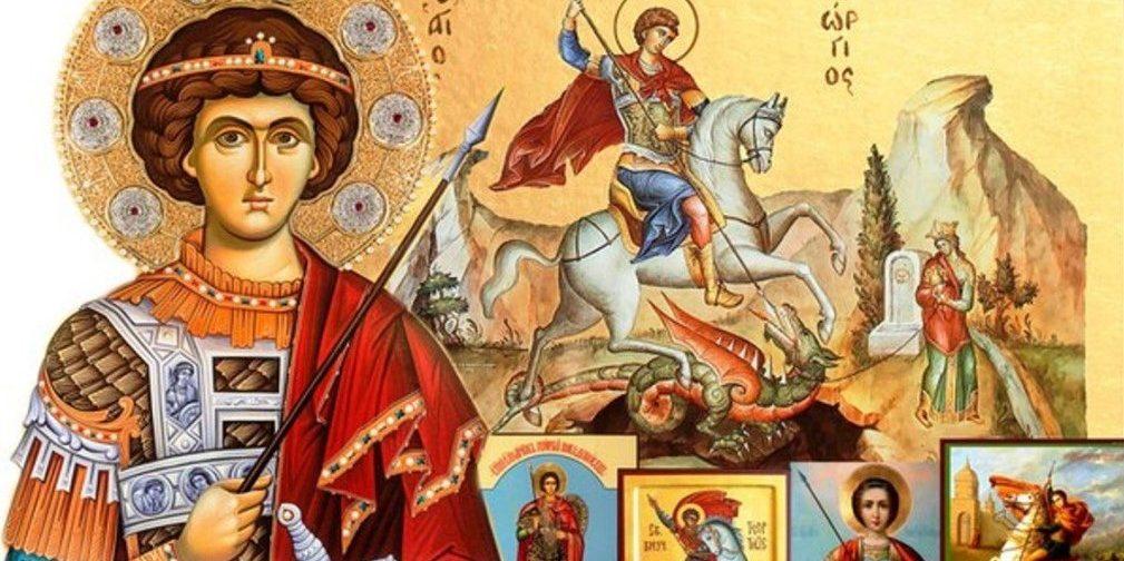 Святой великомученик Георгий Победоносец — ИКОНЫ