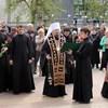 На девятый день трагедии в Белгороде глава епархии совершил заупокойную литию по погибшим