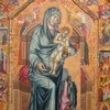 """Икону """"Мадонна с младенцем на троне"""" представили в Эрмитаже впервые после реставрации"""