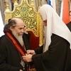 Глава Русской Церкви наградил Иерусалимского Патриарха орденом равноапостольного князя Владимира