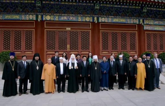 Встреча с религиозными лидерами КНР