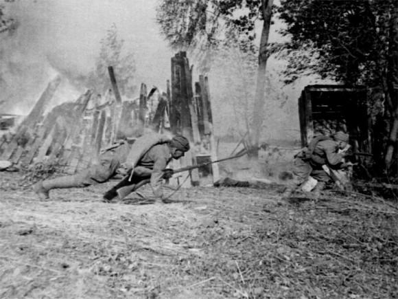 3. Бои в районе границы. 1941 г.