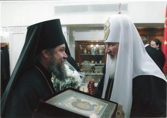 Встреча с Патриархом Кириллом