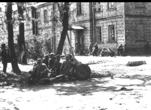 4. Бои немецких ударных частей в районе Бреста. Июнь 1941 г.