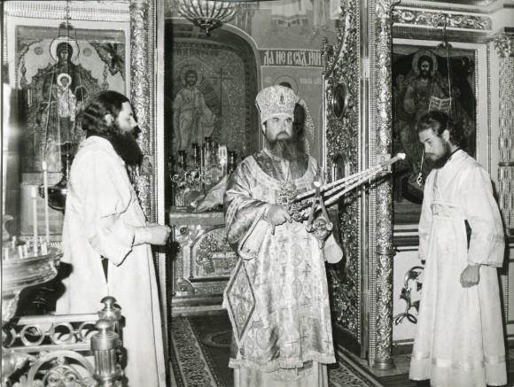 Иподиаконское послушание при архиепископе Александре - ректоре Московских духовных школ