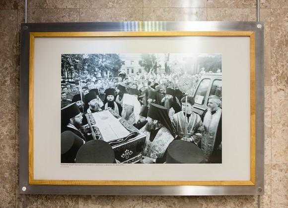 «Прибытие мощей прп. Серафима Саровского в Дивеево, 1991», фото Романа Яровицына