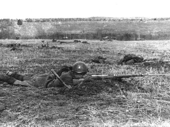 7. Бой на Бородинском поле. Осень 1941 г.