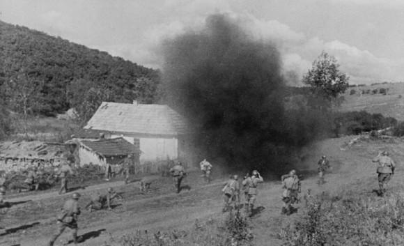 8. Бой. Южный фронт. 1941 г.
