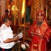 Казачья семья передала Элистинской епархии земельный участок