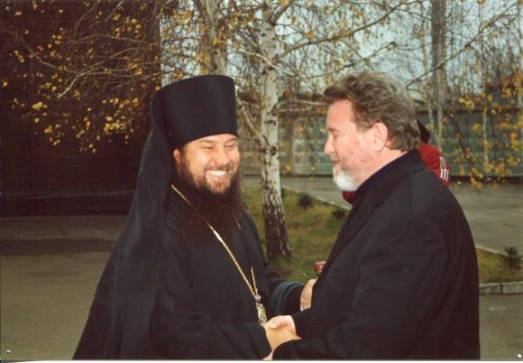 С Губернатором Алтайского края М.С. Евдокимовым