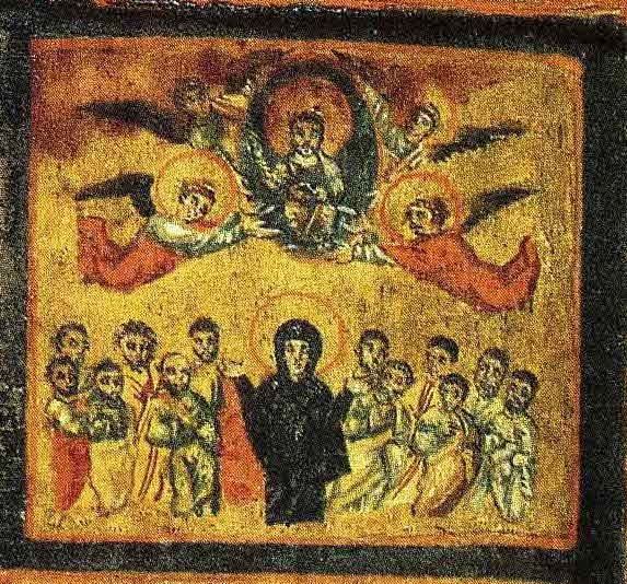9.Реликварий капеллы Санкта Санкторум. Конец VI - нач.VII в. Музеи Ватикана. Фрагмент