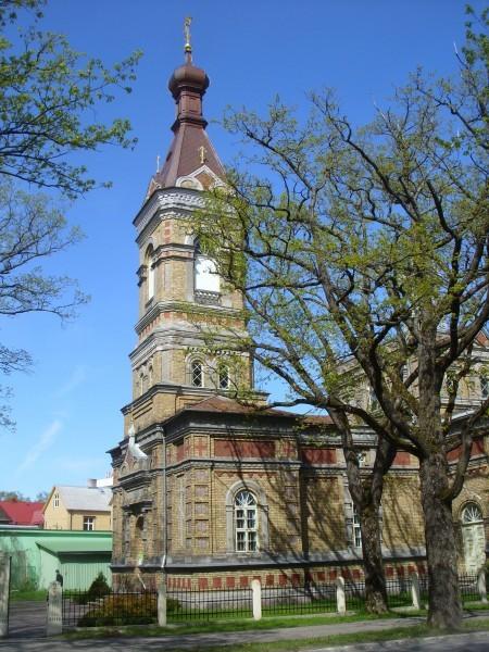 Пярну. Церковь Преображения Господня (Константинопольский патриархат)