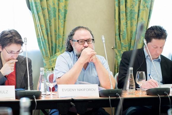 Председатель общества «Радонеж» Евгений Никифоров