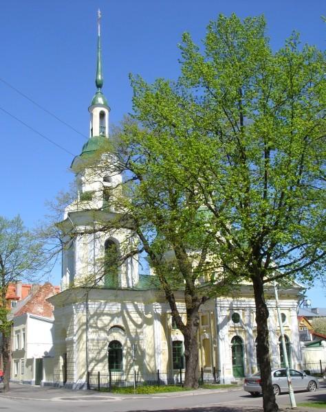 Пярну. Церковь св.вмч. Екатерины (Московский патриархат)