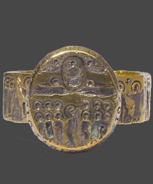 10.Золотое кольцо. Византия. VII в. Художественный музей Уолтерса, Балтимор,США